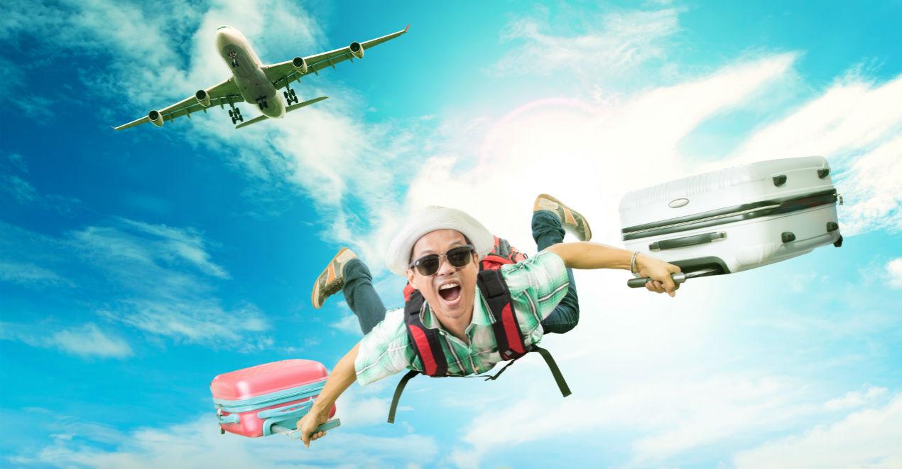 Прикольные картинки про полет