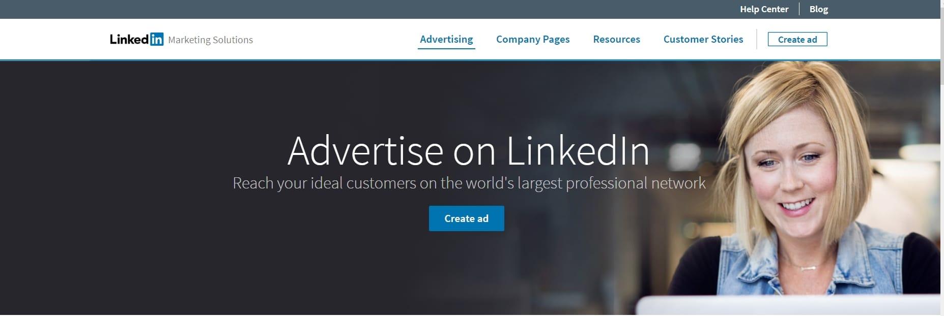 Как создать рекламу в Linkedin?