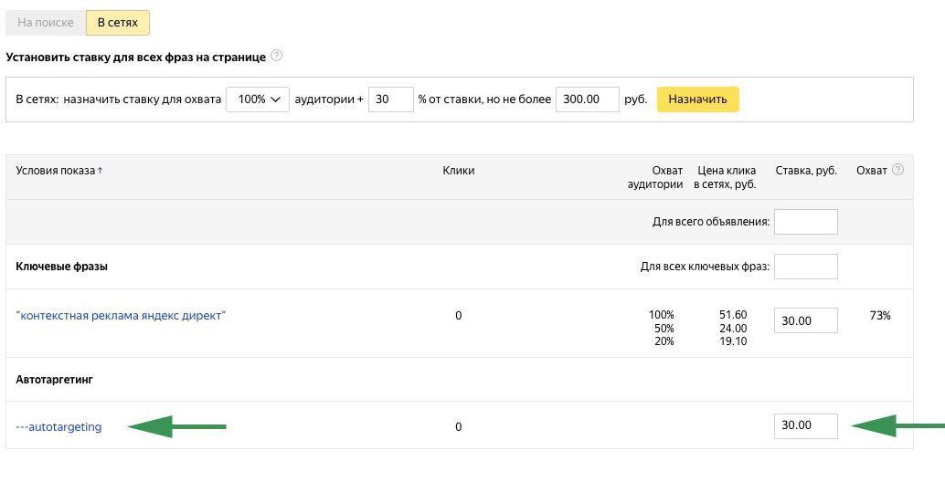 Яндекс.Директ запускает автотаргетинг