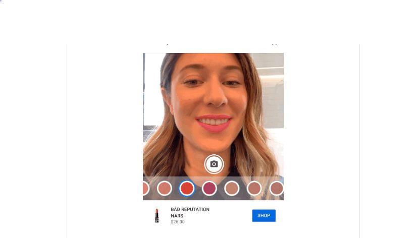 YouTube: виртуальная примерка макияжа выходит в топ