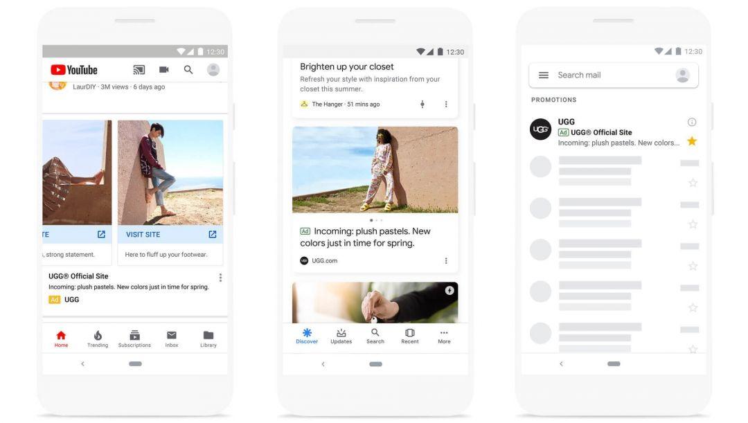 Google запускает кампании Discovery