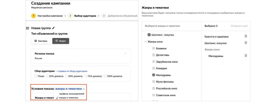 Таргетинг по контенту: новое условие от Яндекс.Директ