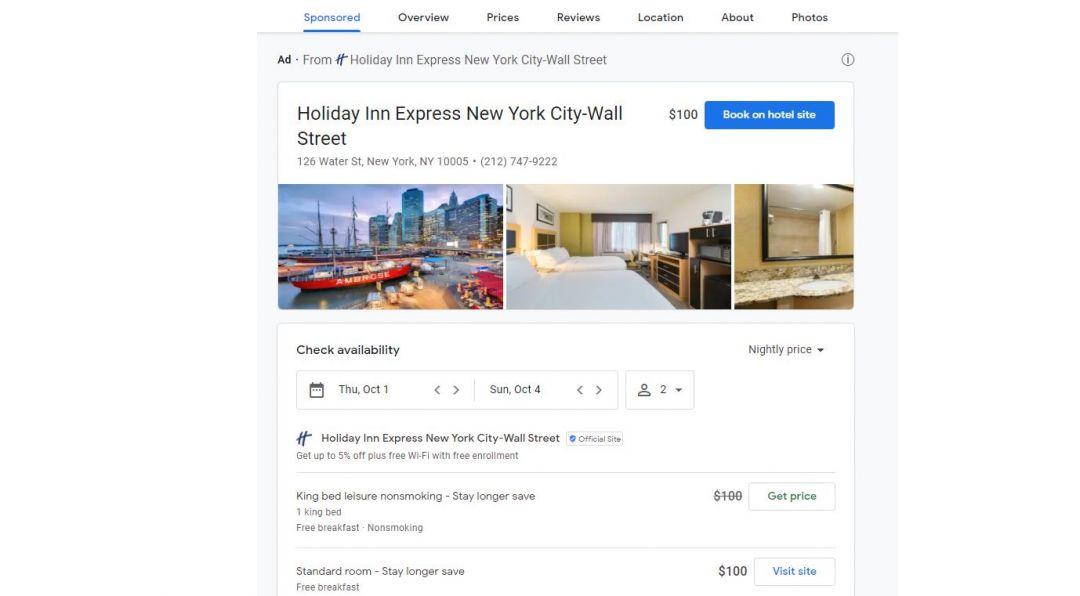 Google Реклама запускает новый формат рекламы недвижимости