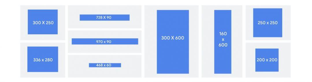 Какой размер рекламного объявления Google выбрать